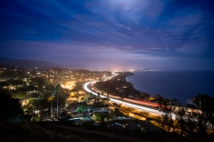 23-ANYE-Santa-Barbara-highway-101-night