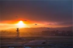 10-ANYE-Santa-Barbara-airport-whittier-wildfire-sunset