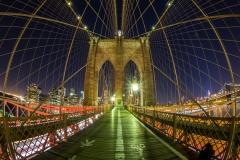 BK Bridge Night Fisheye
