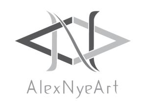AlexNyeArt Logo